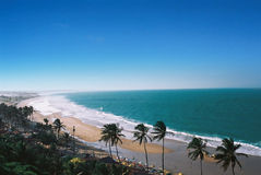 brazylijski plażowy tropikalny obrazy stock
