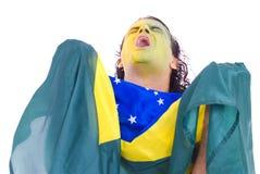 brazylijski zwolennik obraz stock