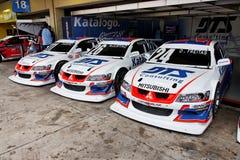 brazylijskie interlagos wyścigów zapasów samochodów Zdjęcia Stock