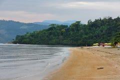 Brazylijskie plażowy Bukolika paraty Rio De Janeiro zdjęcie royalty free