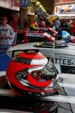 brazylijskie samochodowy hełmów interlagos akcje Zdjęcia Royalty Free