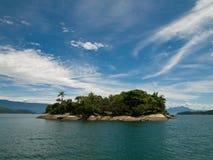 brazylijskie tropikalna wyspa Obrazy Royalty Free
