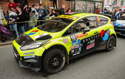 BRC Rally Car in Brampton Royalty Free Stock Photography