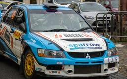 BRC Rally Car in Brampton Royalty Free Stock Photos