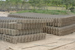 BRC Welded Wire Mesh Stock Photo