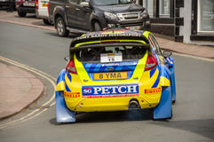 BRC wiecu samochód w Brampton zdjęcie stock