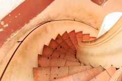 Brck, Treppe, herauf, unten Lizenzfreies Stockfoto
