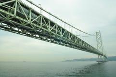 Brücke Akashi-Kaikyo Lizenzfreie Stockfotografie