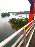 Brücke San-Juanico Stockfotografie