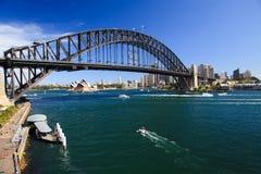 Brücke vom Luna-Tag Lizenzfreie Stockfotos