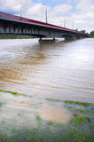 Brücke in Warschau Stockfoto