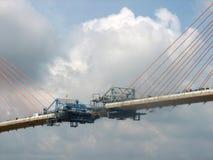 Brücken-Aufbau Lizenzfreies Stockfoto