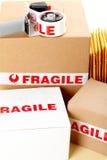 bräcklig service för leverans Royaltyfri Fotografi