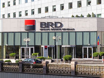 BRD Bank in Bucharest Royalty Free Stock Photo