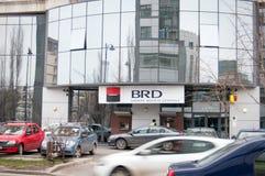 BRD-Bankfiliale Stockfotografie