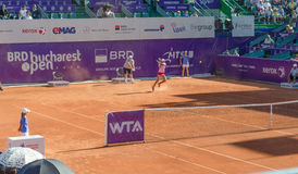 BRD Bucharest OPEN - Day 7- Quarter-finals  - 11.07.2014 Royalty Free Stock Photo