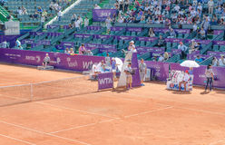 BRD Bucharest OPEN - Day 7- Quarter-finals  - 11.07.2014 Royalty Free Stock Photos