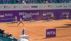 BRD Bucharest OPEN - Day 7- Quarter-finals  - 11.07.2014 Royalty Free Stock Image