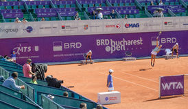 BRD Bucharest OPEN - Day 7- Quarter-finals  - 11.07.2014 Stock Image
