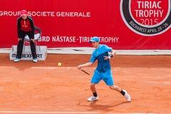 BRD Nastase Tiriac trofeum 2015 - kwalifikacja Obrazy Royalty Free