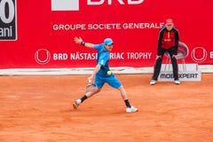 BRD Nastase Tiriac trofeum 2015 - kwalifikacja Obraz Royalty Free