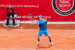 BRD Nastase Tiriac trofeum 2015 - kwalifikacja Zdjęcia Stock