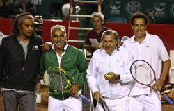 BRD Nastase Tiriac Trophy Charity Match Stock Images