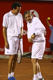 BRD Nastase Tiriac Trophy Charity Match Royalty Free Stock Image