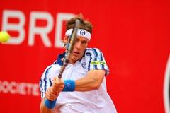 BRD Nastase Tiriac Trophy Open GIMENO-TRAVER -Viktor TROICKI Royalty Free Stock Photo