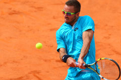 BRD Nastase Tiriac Trophy Open GIMENO-TRAVER -Viktor TROICKI Royalty Free Stock Photo