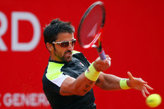 BRD Nastase Tiriac Trophy Open Janko TIPSAREVIC- Thomas FABBIANO Royalty Free Stock Photo