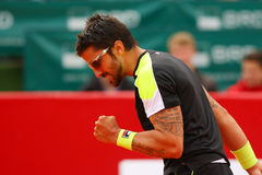 BRD Nastase Tiriac Trophy Open Janko TIPSAREVIC- Thomas FABBIANO Royalty Free Stock Photos