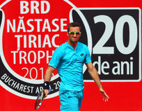 BRD Nastase Tiriac Trophy Open GIMENO-TRAVER -Viktor TROICKI Royalty Free Stock Photography