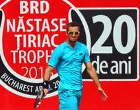 BRD Nastase Tiriac Trophy Open GIMENO-TRAVER -Viktor TROICKI Royalty Free Stock Photography