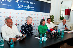 BRD Nastase Tiriac Trophy press conference Stock Photography