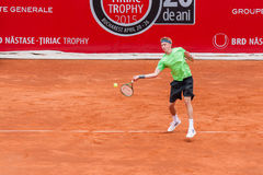 BRD Nastase Tiriac Trophy 2015 - Qualification Stock Photography