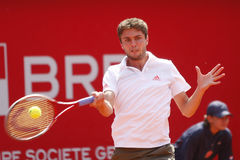 BRD Open 2012 Final : Gilles Simon- Fabio Fognini Royalty Free Stock Images