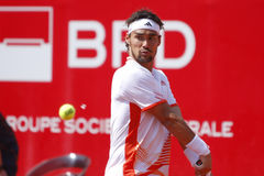 BRD Open 2012 Final : Gilles Simon- Fabio Fognini Stock Images