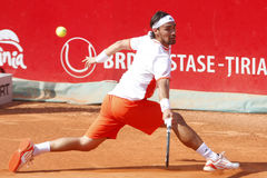 BRD Open 2012 Final : Gilles Simon- Fabio Fognini Royalty Free Stock Photos