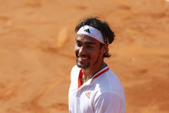 BRD Open 2012 Final : Gilles Simon- Fabio Fognini Stock Image