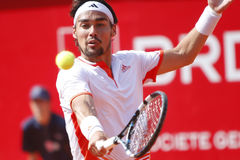 BRD Open 2012 Final : Gilles Simon- Fabio Fognini Royalty Free Stock Photography