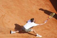 BRD Open 2012 Final : Gilles Simon- Fabio Fognini Royalty Free Stock Photos