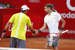 BRD Open 2013 Doubles Final:Horia Tecau/ Max Mirnii vs. Dlouhy/ Marach Stock Photo