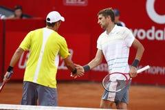 BRD Open 2013 Doubles Final:Horia Tecau/ Max Mirnii vs. Dlouhy/ Marach Stock Photo