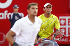 BRD Open 2013 Doubles Final:Horia Tecau/ Max Mirnii vs. Dlouhy/ Marach Royalty Free Stock Photo