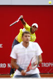 BRD Open 2013 Doubles Final:Horia Tecau/ Max Mirnii vs. Dlouhy/ Marach Stock Images