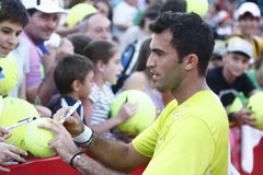 BRD Open 2013 Doubles Final:Horia Tecau/ Max Mirnii vs. Dlouhy/ Marach Royalty Free Stock Image