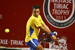 BRD Open:Frederico GIL (POR) - Jeremy CHARDY (FRA) Royalty Free Stock Photos