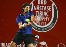 BRD Open Frederico GIL (POR) - Jeremy CHARDY (FRA) Stock Images