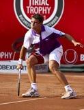 BRD Open : Joao SOUZA (BRA) vs Tommy ROBREDO (ESP). Tommy ROBREDO (ESP)  in the tennis match against Joao SOUZA (BRA) at BRD Nastase Tiriac Trophy (ATP) Open at Stock Photos